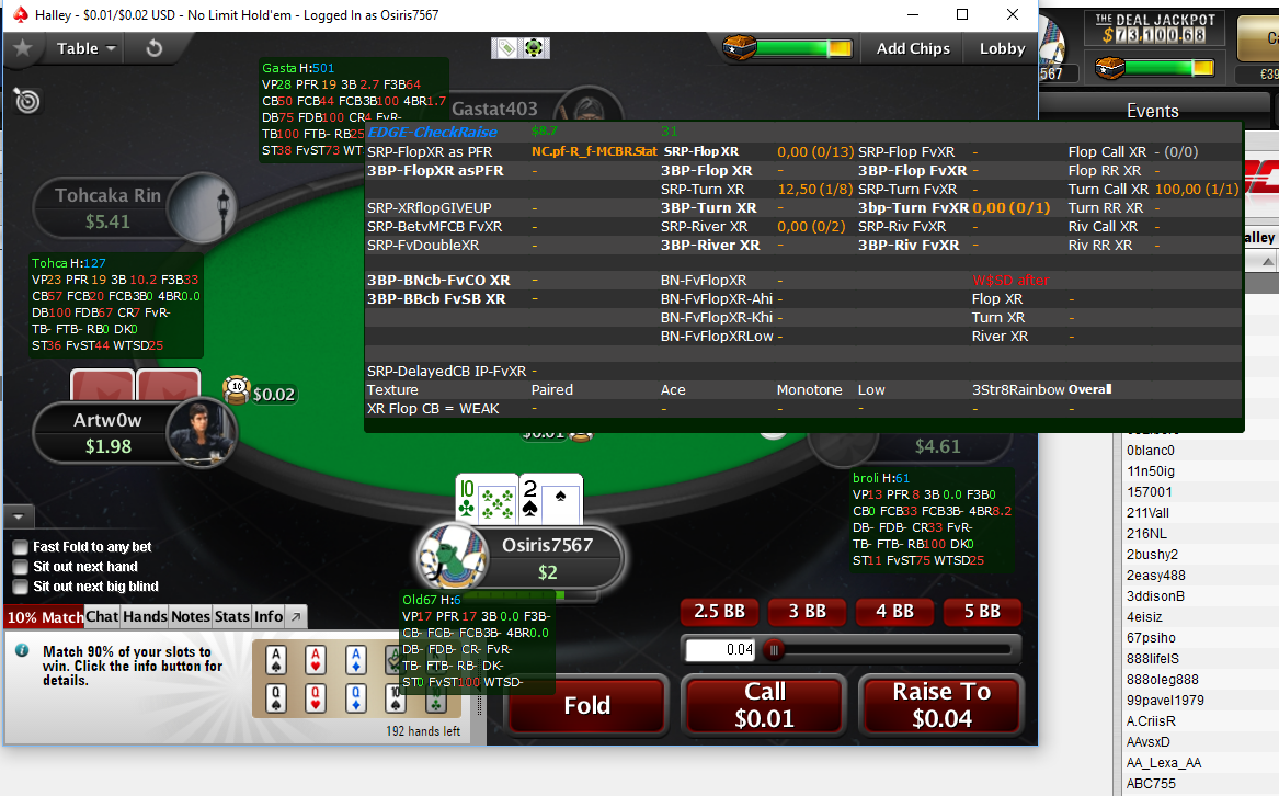 View topic - How does NoteCaddy help me? | PokerTracker