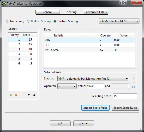 how to add stats to hud pokertracker 4 summary