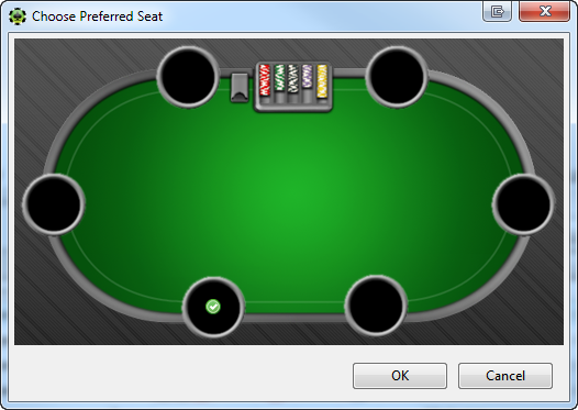Party Poker Preferred Seat