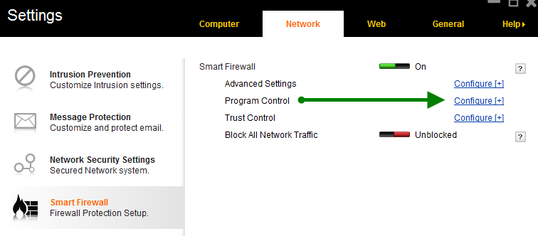 Norton Smart Firewall