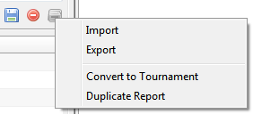 importing pt4 reports