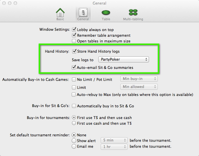 Party Poker Mac OS X PT3