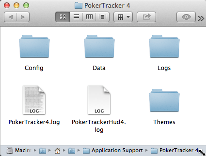 Mac User Data Folder