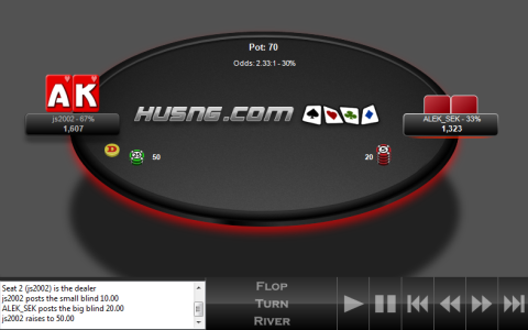 Preview of HUSNG.com Heads Up Pro Theme