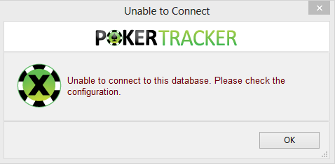Pacific poker unable to connect