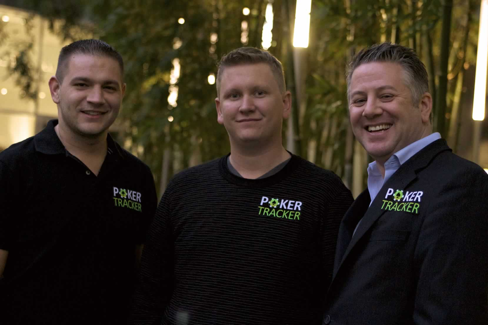 PokerTracker management team with Ben Lamb