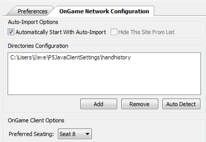 OnGame Config