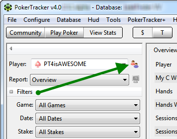 Alias Management In Poker Tracker 4